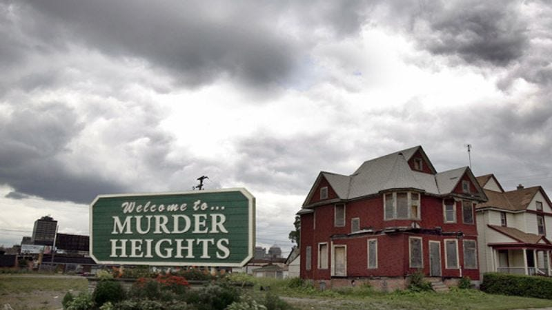 """Realtor Leah Regan said other names considered included """"Maple Point"""" and """"Murder Heights Village."""""""