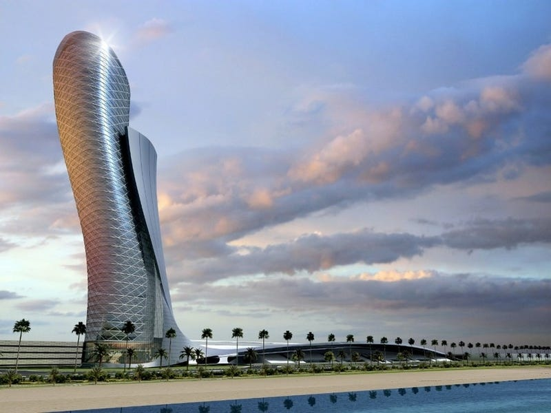 Illustration for article titled This Is What the Most Leaning Building In the World Looks Like