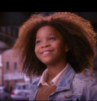 Quvenzhané Wallis as AnnieYouTube screenshot