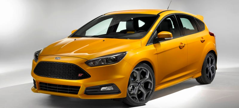 Illustration for article titled 2015 Ford Focus ST: This Is It