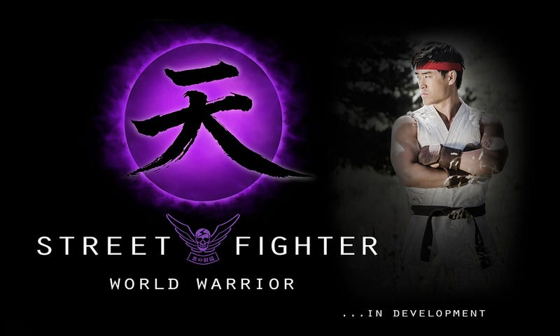 Illustration for article titled Street Fighter: World Warrior Announced at SDCC 2014