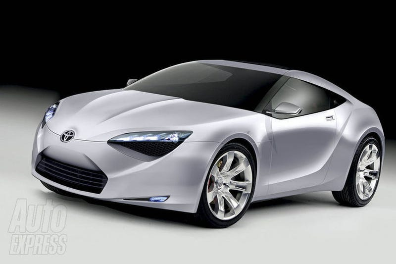 Illustration for article titled Rumored Toyota Hybrid Sportscar is Prius-based