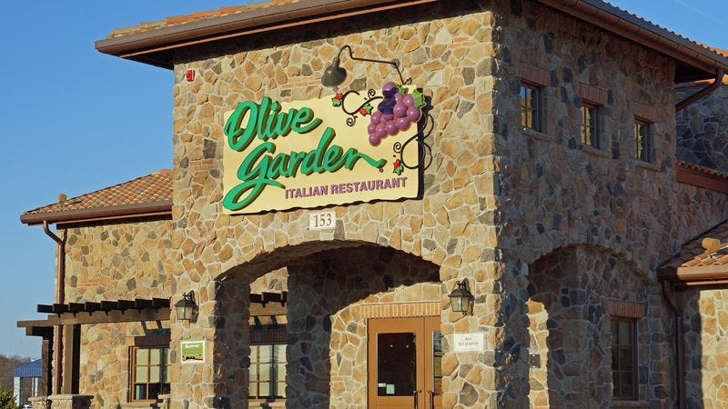 Illustration for article titled Olive Garden announces most fiendish plot yet to bury you in pasta