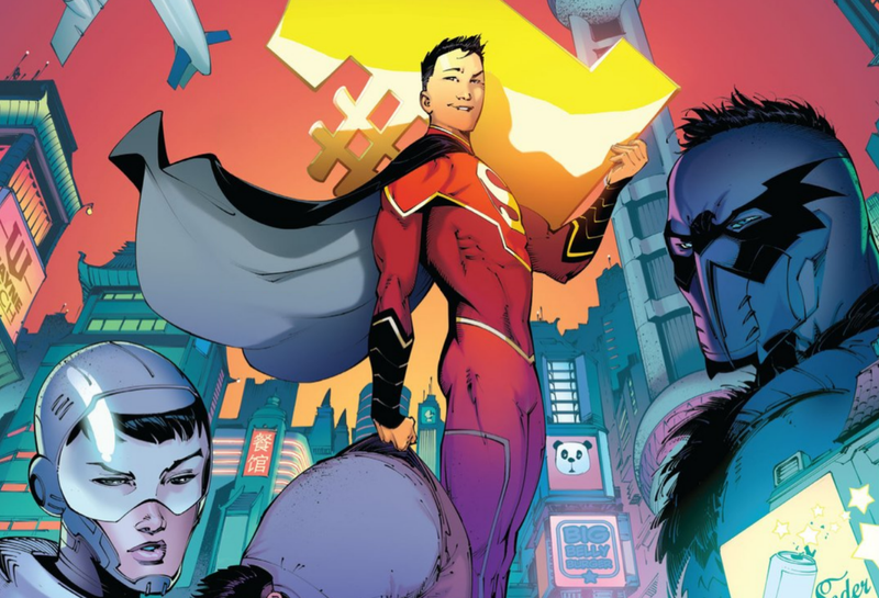 Illustration for article titled New Super-Man Is More Than an Official DC Comics Chinese Knockoff