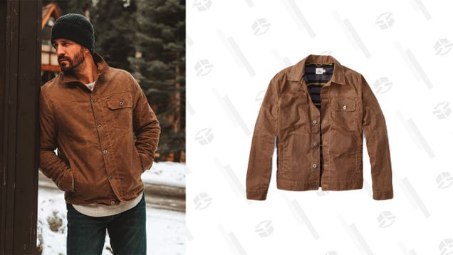 Save $48 On This Made-To-Last Flint and Tinder Trucker Jacket from Huckberry