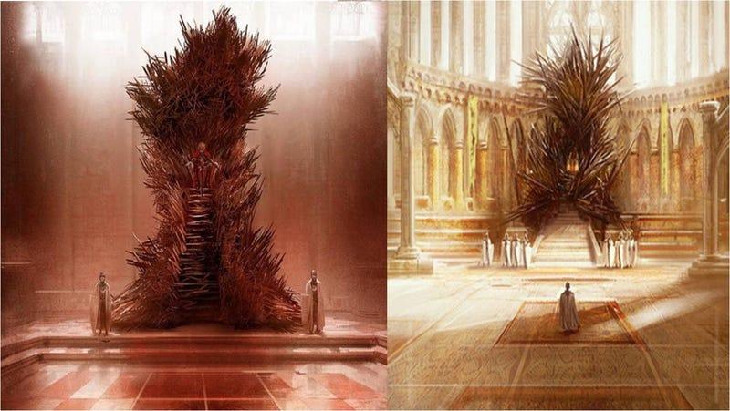 Así sería de verdad el Iron Throne de Juego de Tronos según su creador
