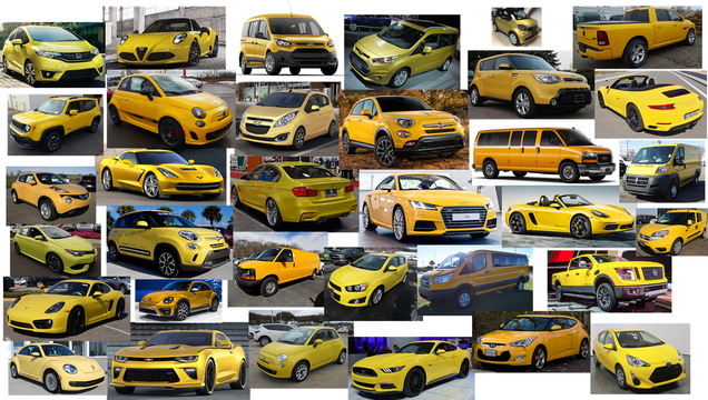 Illustration for article titled Every Yellow Car For Sale In the US Today