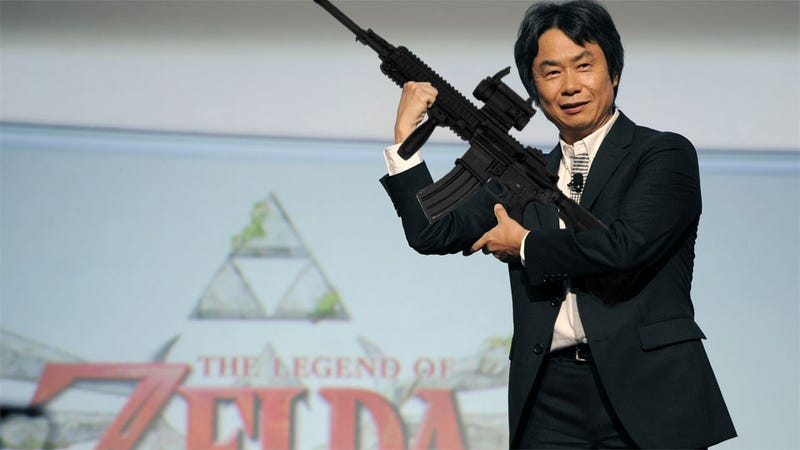 Illustration for article titled The Creator of Mario and Zelda Wants to Make a First-Person Shooter