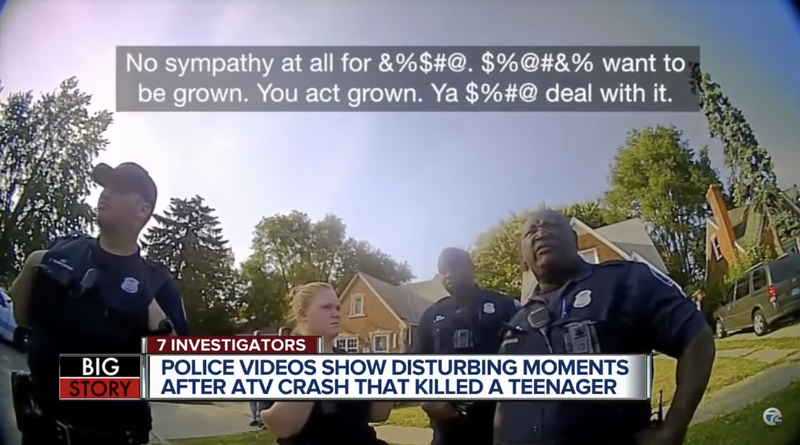 Illustration for article titled Video Released After Teen Tased and Killed by Michigan State Troopers Underscores Law Enforcement's Utter Contempt for Black Americans