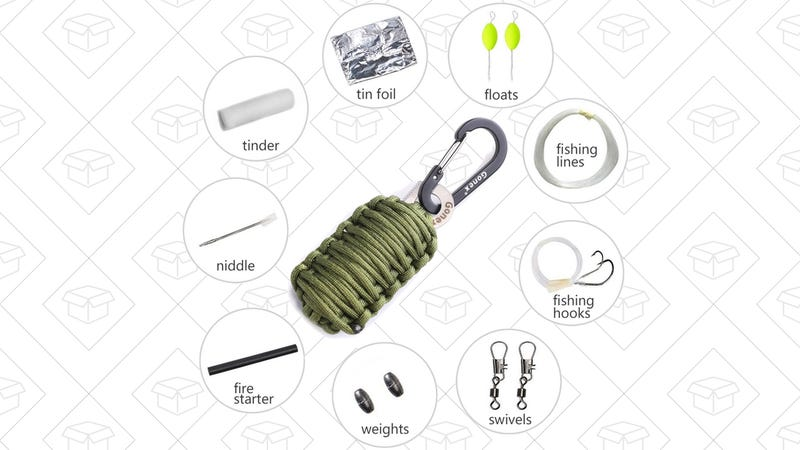 Gonex 550 Paracord Survival Grenade, $7 with code 49T27R9H