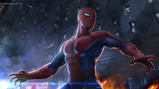 Illustration for article titled Concept art reveals the double-decker chase scene cut from The Amazing Spider-Man
