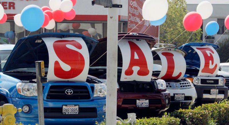 Memorial Day Car Sale >> Those Memorial Day Weekend Car Sales Might Not Be As Good As