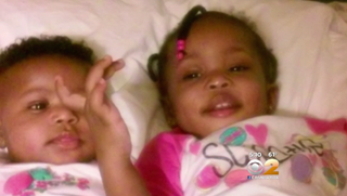 Jannubi Jabie, 2, and Amanda Jabie, 18 months, died in an April 2016 apartment fire in the Bronx, N.Y., after being left at home alone with incense burning. CBS New York