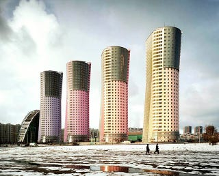 Illustration for article titled Photos of Post-Soviet High Rises Are Grandiose and Surreal