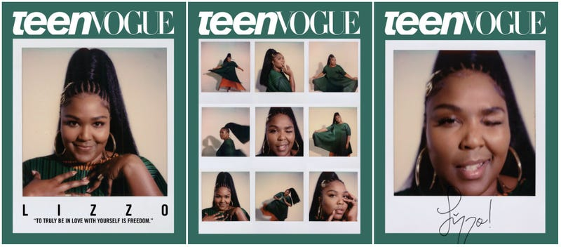 Illustration for article titled Lizzo Covers Teen Vogue and We're in Love (Again)