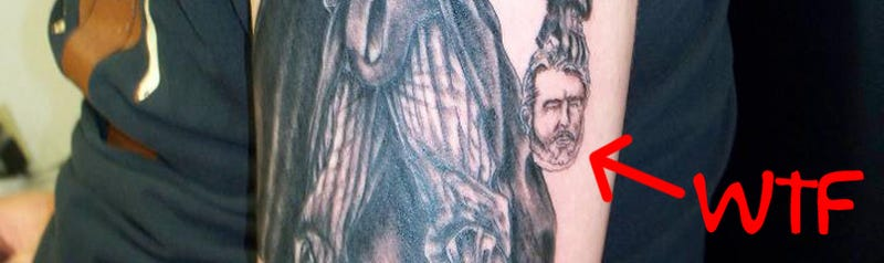 Illustration for article titled True Hate: The Darth Vader Kills George Lucas Tattoo