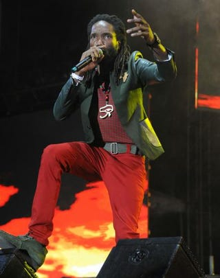 Kabaka Pyramid at Reggae Sumfest in July 2015 in St. James, JamaicaCourtesy of the Jamaican Tourist Board
