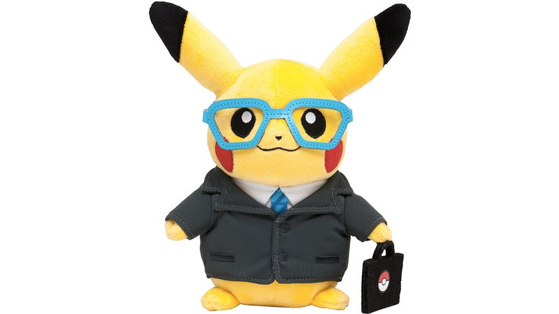 Illustration for article titled Corporate Pikachu Proves Even Pokemon Have To Get Real Jobs One Day