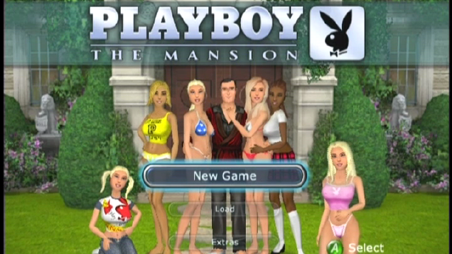 Playboy mansion game