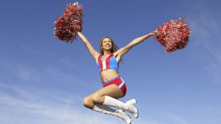 Illustration for article titled Tennessee Cheerleading Squad Charged With Gender Discrimination