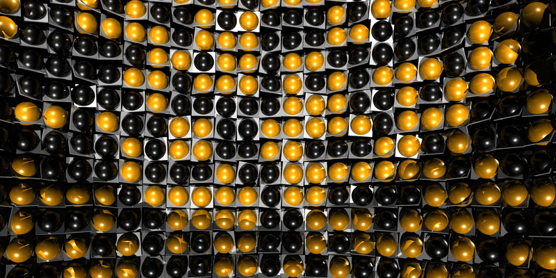Illustration for article titled Simple Collections of Gold Nanoparticles Can Develop Computational Abilities