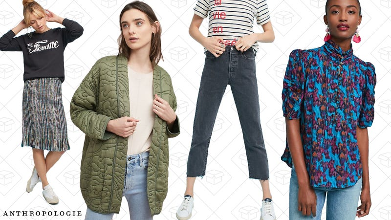 20% off full-price clothing | Anthropologie