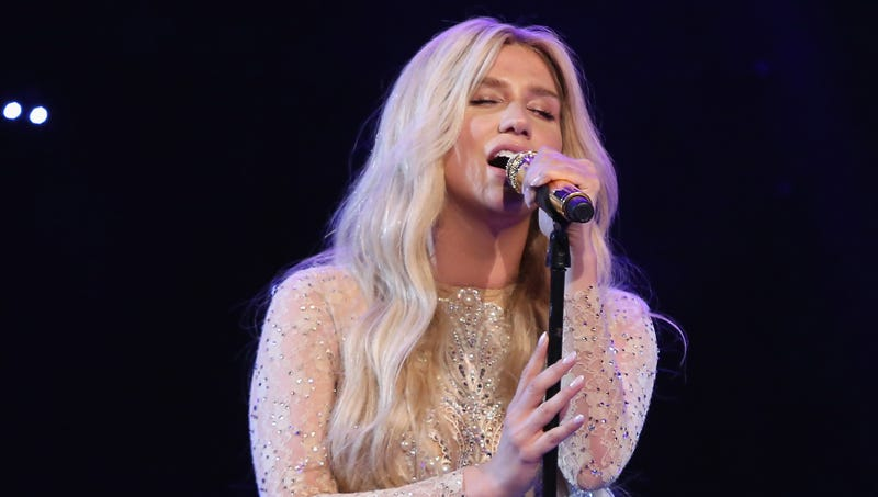 Illustration for article titled Kesha Sings 'Amazing Grace' Cover Because She Can't Release New Music