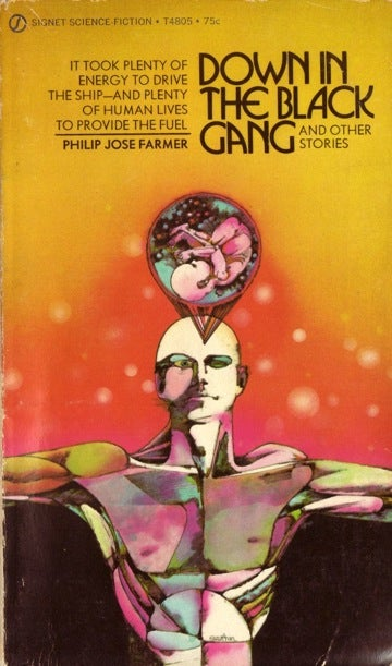 Illustration for article titled Down In The Black Gang And Other Stories by Philip José Farmer (1971)