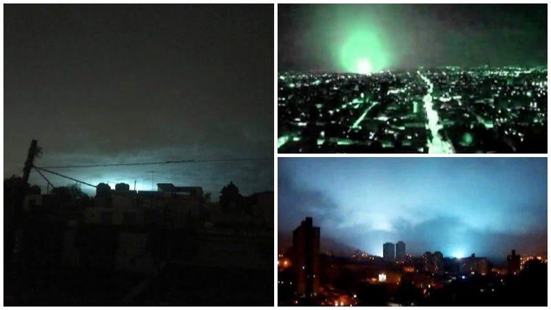 Por qué aparecieron luces en el cielo durante el terremoto de magnitud 8.2 en México