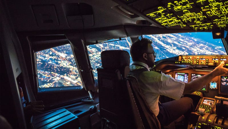 Illustration for article titled Pilot Shudders To Imagine Why Passengers Taking Red-Eye To Atlantic City