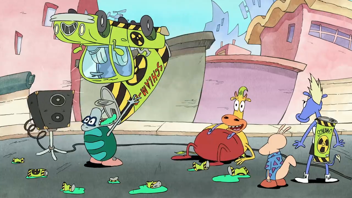 Static Cling will make you re-evaluate Rocko's Modern Life