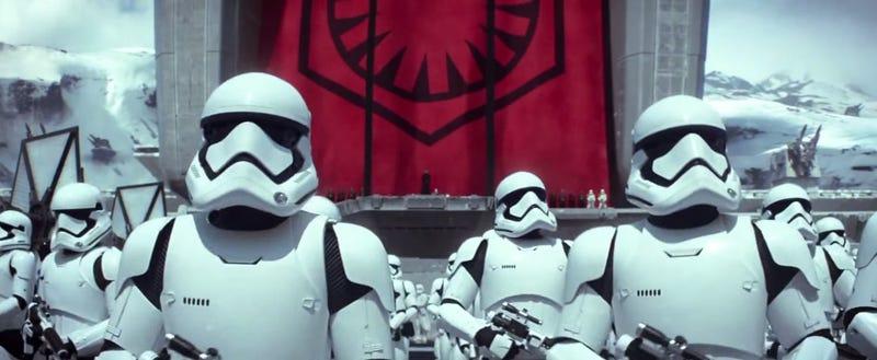 Illustration for article titled Los uniformes de los nuevos Stormtroopers están inspirados en Apple