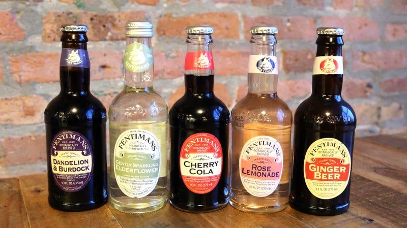 Illustration for article titled Taste testing Fentimans' weird, wonderful, botanical soft drinks