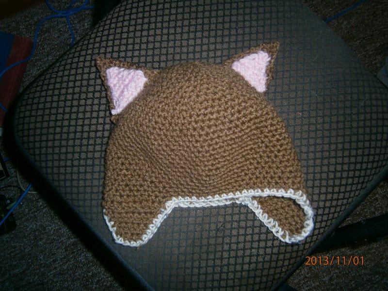 Illustration for article titled Finished hat!!