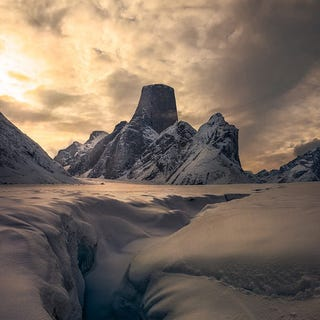 Illustration for article titled Mt. Asgard looks like the actual home of the Viking gods
