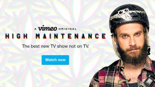 Illustration for article titled Watch the New Season of High Maintenance on Vimeo and Save 10%