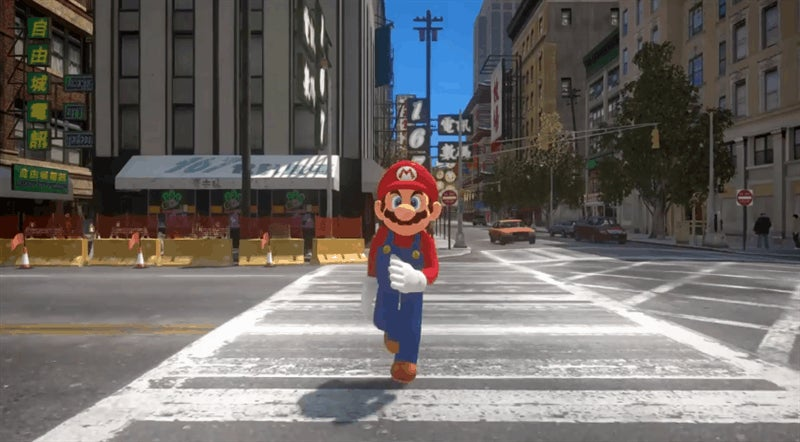 If Super Mario Odyssey Had The Realism Of Grand Theft Auto