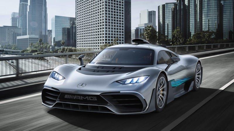 Illustration for article titled I think I've found the problem with the AMG Project ONE's ugly mug.