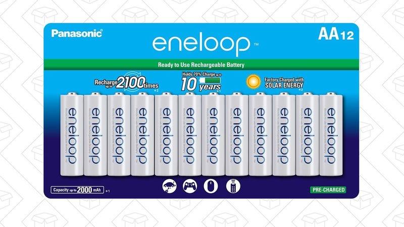 Eneloop AA 12-Pack | $29 | AmazonEneloop AA 16-Pack | $35 | Amazon