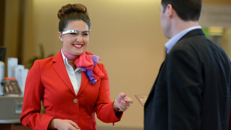 Illustration for article titled Virgin Atlantic Is Using Google Glass to Improve Check-Ins