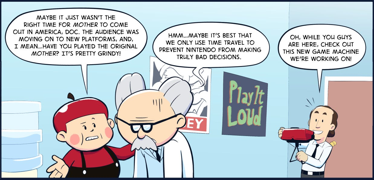 Comic History: Why The First EarthBound Wasn't Released Outside