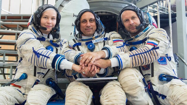 What We're Learning About That Upcoming Russian 'Movie in Space'