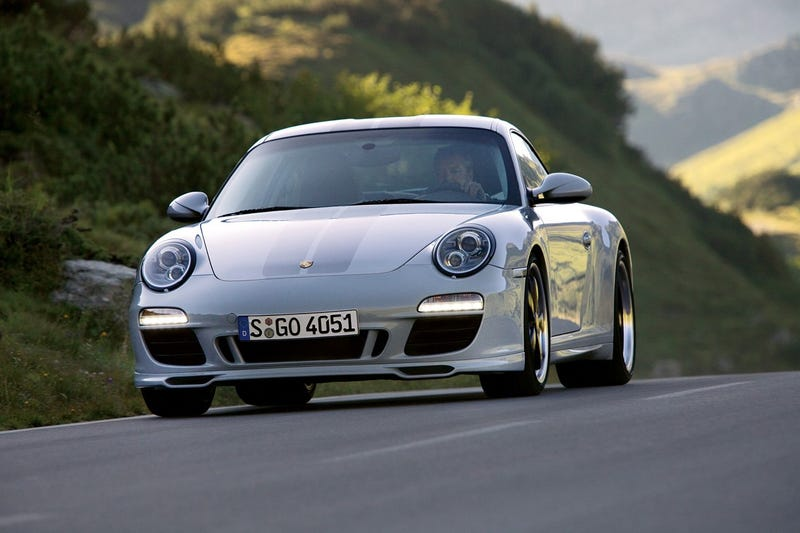 Illustration for article titled 2010 Porsche 911 Sport Classic: A Carrera S With Ducktail, Flair