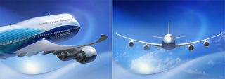 Illustration for article titled Boeing 747-8: Redesigned Workhorse