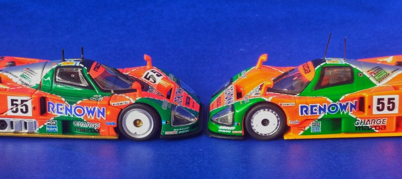 Illustration for article titled [VERSUS!] TLVN vs. Kyosho Beads Mazda 787B