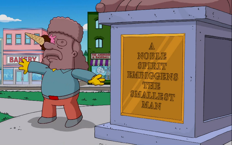 Illustration for article titled Una palabra inventada por Los Simpson llega al diccionario 22 años después