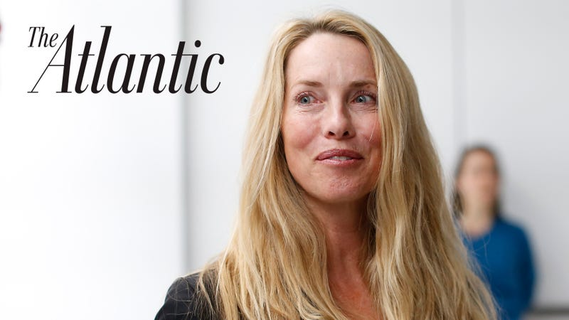 Atlantic Media selling ownership stake to organization run by Laurene Powell Jobs