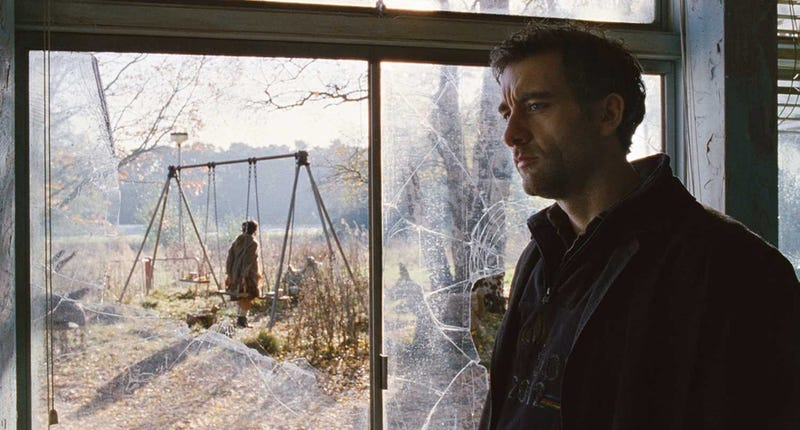 Clive Owen thinking about all the spelling bees he'll never see in Children of Men