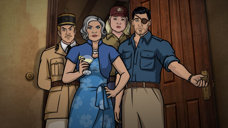 Illustration for article titled 5 things to know about Archer's new Danger Island reboot
