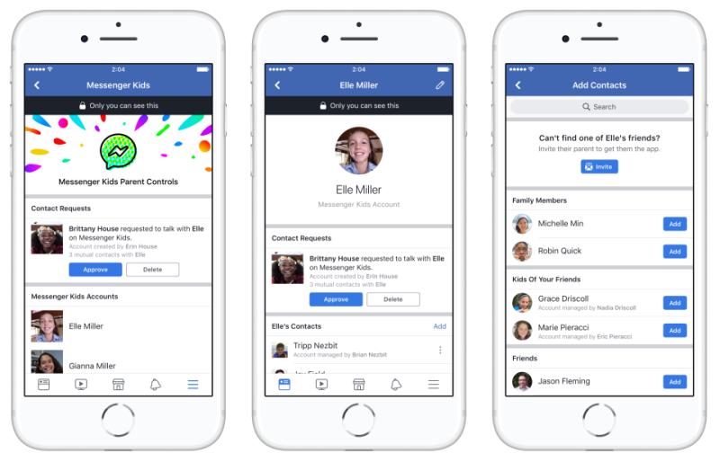 Illustration for article titled Messenger Kids es la nueva app de mensajería de Facebook para niños de hasta 6 años